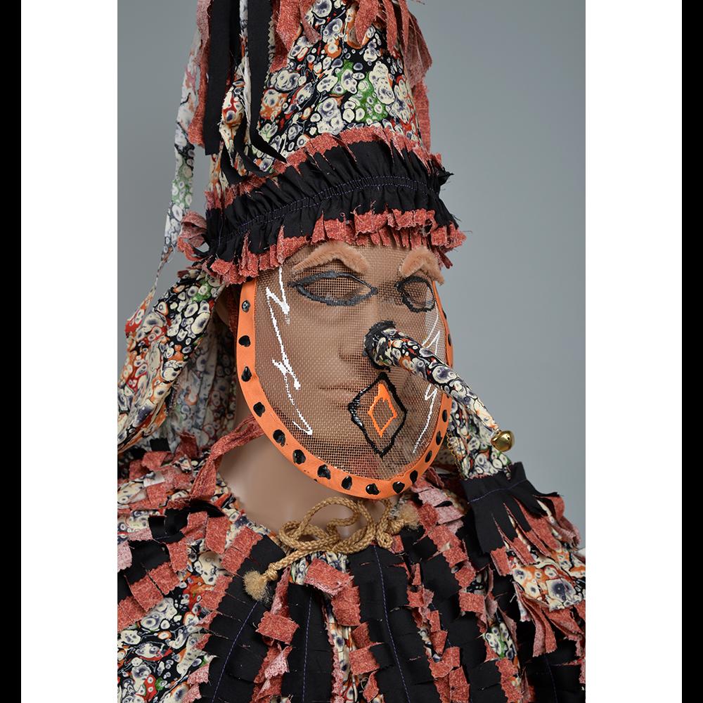 Cajun Mardi Gras Second Face